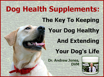 Dog Health Supplements from Dr. Andrew Jones